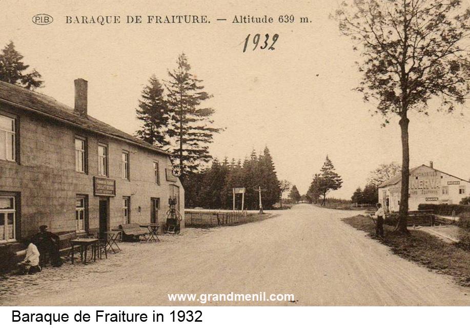 Attacking Baraque De Fraiture Grandmenil