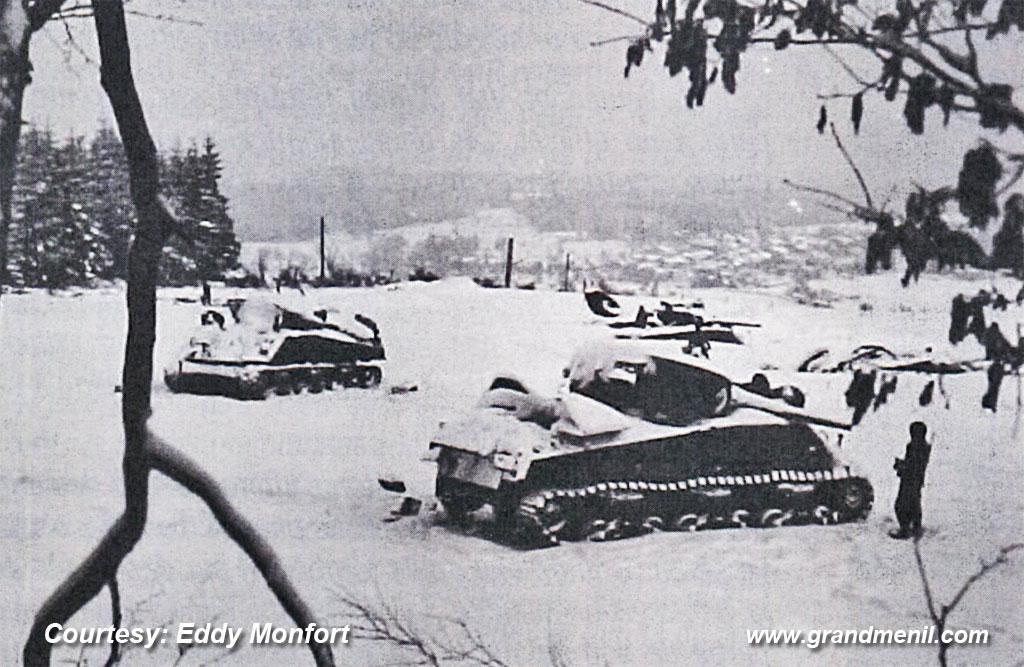 40th tank battalion Belle Haie