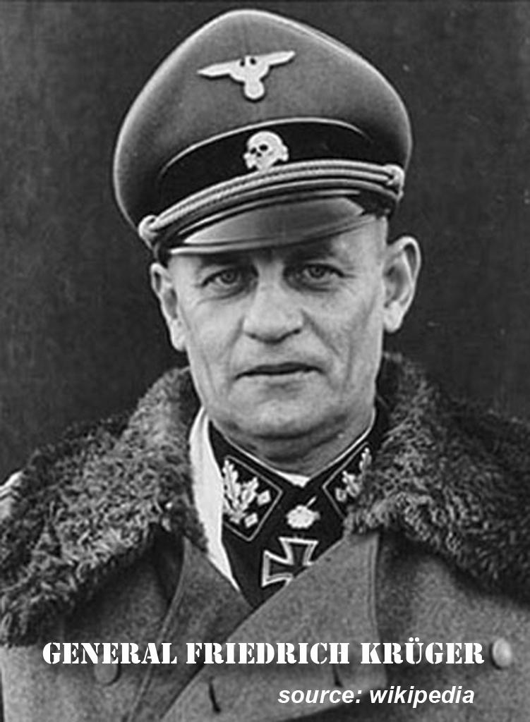 Friedrich Kruger 2nd SS Das Reich